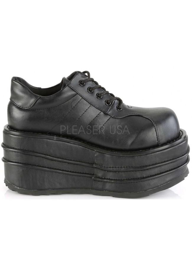 edbe0ba9595 Tempo Unisex Vegan Leather Platform Sneaker - Men s Platform Shoes