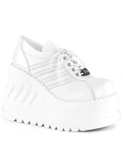 Stomp Womens Platform Sneaker at Gothic Plus, Gothic Clothing, Jewelry, Goth Shoes & Boots & Home Decor