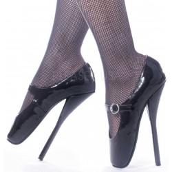 Ballet Extreme Black Mary Jane Shoe Gothic Plus  Gothic Clothing, Jewelry, Goth Shoes, Boots & Home Decor