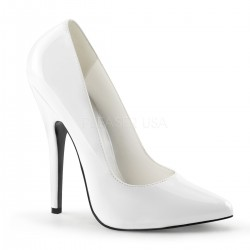 Classic White 6 Inch High Heel Pump Gothic Plus Gothic Clothing, Jewelry, Goth Shoes & Boots & Home Decor