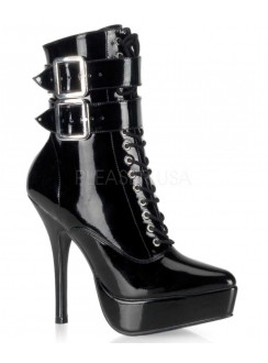 Indulge Platform Granny Boot Gothic Plus Gothic Clothing, Jewelry, Goth Shoes & Boots & Home Decor