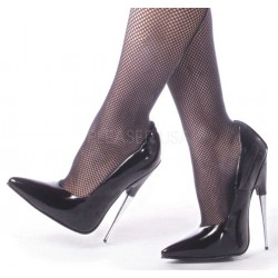 Scream Spiked Extreme Heel Black Fetish Pump Gothic Plus Gothic Clothing, Jewelry, Goth Shoes & Boots & Home Decor