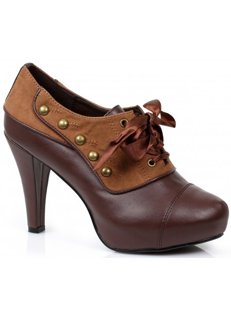 Steam Womens Steampunk Oxfords at Gothic Plus, Gothic Clothing, Jewelry, Goth Shoes & Boots & Home Decor