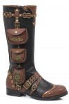 Silas Multi Pocket Steampunk Womens Boot