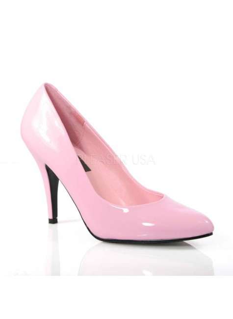 Baby Pink Classic Vanity Pump at Gothic Plus, Gothic Clothing, Jewelry, Goth Shoes & Boots & Home Decor