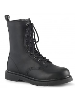 Bolt Mens Combat Mid-Calf Boot Gothic Plus Gothic Clothing, Jewelry, Goth Shoes & Boots & Home Decor