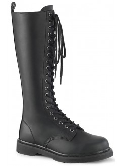 Bolt Mens Knee High Combat Boots Gothic Plus Gothic Clothing, Jewelry, Goth Shoes & Boots & Home Decor