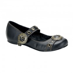 Steampunk Flat Mary Jane Shoe Gothic Plus Gothic Clothing, Jewelry, Goth Shoes & Boots & Home Decor