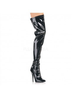 Domina High Heel Thigh High Boot Gothic Plus Gothic Clothing, Jewelry, Goth Shoes & Boots & Home Decor