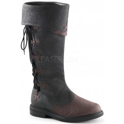 Distressed Black Rennaissance Costume Boots Gothic Plus  Gothic Clothing, Jewelry, Goth Shoes, Boots & Home Decor
