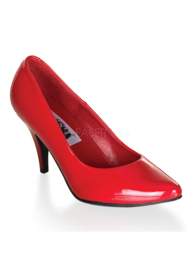 newest arriving cheaper Red Classic Pump 420 with 3 Inch Heel