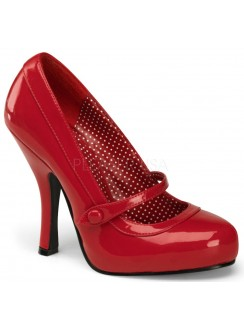 Cutie Pie Red Mary Jane Pin Up Pumps Gothic Plus Gothic Clothing, Jewelry, Goth Shoes & Boots & Home Decor