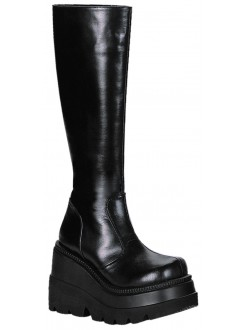 Shaker Platform Knee High Womens Boot