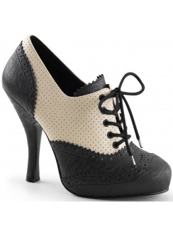Cutie Pie Spectator Oxford Shoe Gothic Plus Gothic Clothing, Jewelry, Goth Shoes & Boots & Home Decor