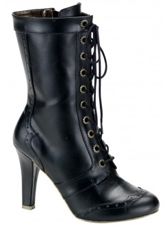Victorian Tesla Granny Boot Gothic Plus Gothic Clothing, Jewelry, Goth Shoes & Boots & Home Decor