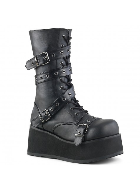 Trashville 205 Mens Platform Boot at Gothic Plus, Gothic Clothing, Jewelry, Goth Shoes & Boots & Home Decor