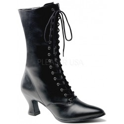 Black Victorian Ankle Boot Gothic Plus Gothic Clothing, Jewelry, Goth Shoes & Boots & Home Decor
