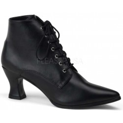 Black Victorian Ankle Bootie Gothic Plus Gothic Clothing, Jewelry, Goth Shoes & Boots & Home Decor