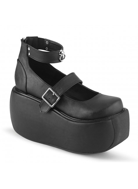 Violet Black Mary Jane Platform Pump at Gothic Plus, Gothic Clothing, Jewelry, Goth Shoes & Boots & Home Decor