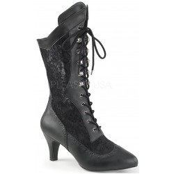 Divine Wide Width Black Victorian Platform Boot Gothic Plus Gothic Clothing, Jewelry, Goth Shoes & Boots & Home Decor