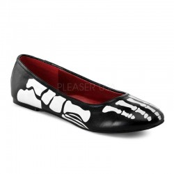 X-Ray Skeleton Ballet Flats Gothic Plus Gothic Clothing, Jewelry, Goth Shoes & Boots & Home Decor