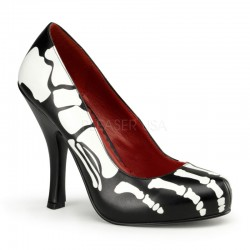 X-Ray Skeleton Pumps Gothic Plus Gothic Clothing, Jewelry, Goth Shoes & Boots & Home Decor