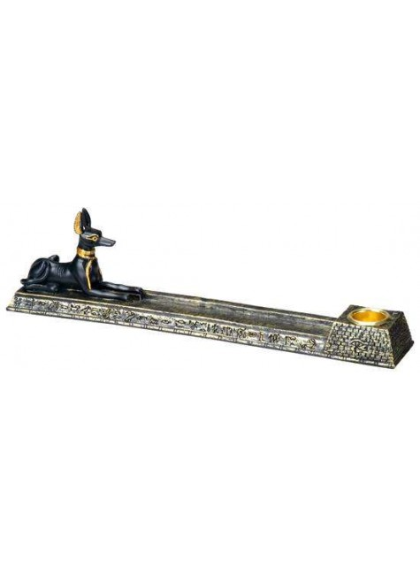 Anubis Egyptian Dog Incense Burner at Gothic Plus, Gothic Clothing, Jewelry, Goth Shoes & Boots & Home Decor