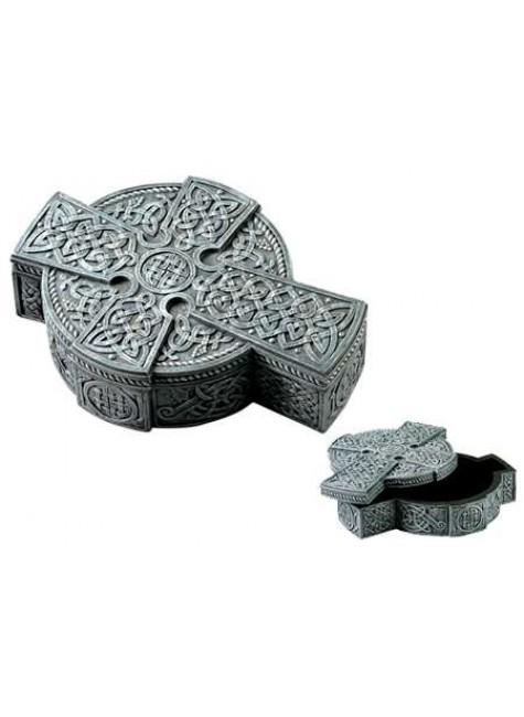Celtic Cross Trinket Box at Gothic Plus, Gothic Clothing, Jewelry, Goth Shoes & Boots & Home Decor