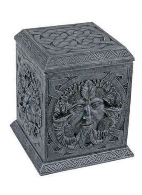 Greenman Four Seasons Box at Gothic Plus, Gothic Clothing, Jewelry, Goth Shoes & Boots & Home Decor