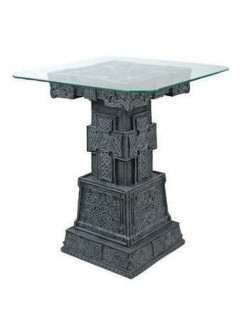 Celtic Cross Side Table Gothic Plus Gothic Clothing, Jewelry, Goth Shoes & Boots & Home Decor