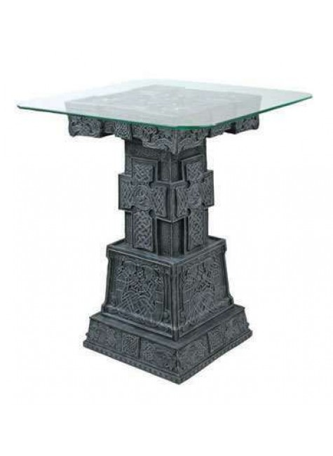 Celtic Cross Side Table at Gothic Plus, Gothic Clothing, Jewelry, Goth Shoes & Boots & Home Decor