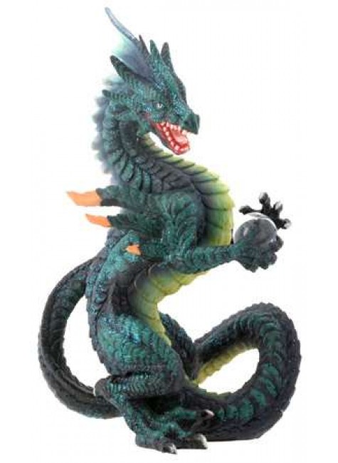 Spelll Fire Dragon Statue at Gothic Plus, Gothic Clothing, Jewelry, Goth Shoes & Boots & Home Decor