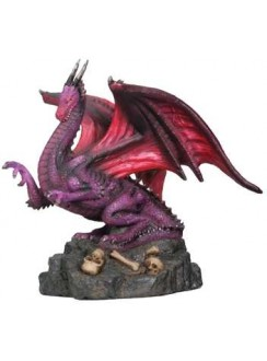 Abraxas Dragon Small Statue Gothic Plus Gothic Clothing, Jewelry, Goth Shoes & Boots & Home Decor