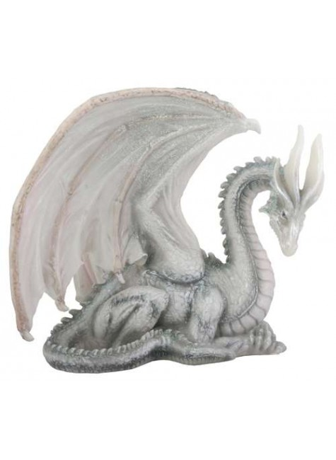 Wise Old Dragon Statue at Gothic Plus, Gothic Clothing, Jewelry, Goth Shoes & Boots & Home Decor