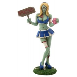 Zombie Cheerleader Statue Gothic Plus Gothic Clothing, Jewelry, Goth Shoes & Boots & Home Decor