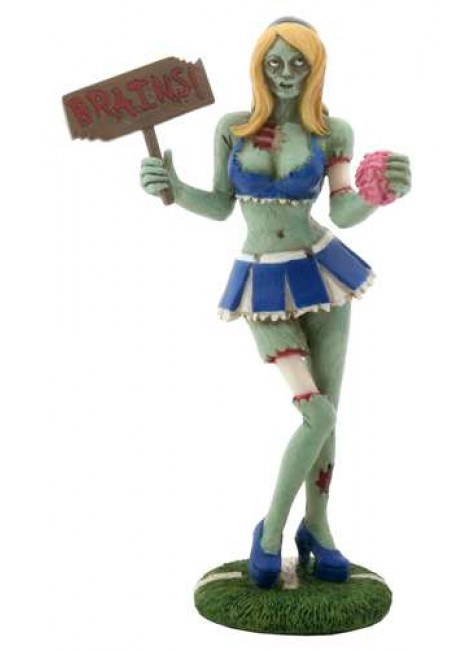 Zombie Cheerleader Statue at Gothic Plus, Gothic Clothing, Jewelry, Goth Shoes & Boots & Home Decor