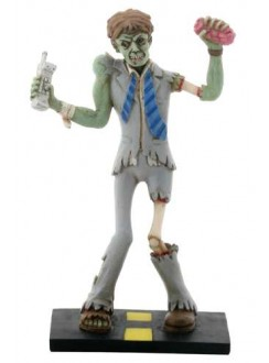 Zombie Business Man Statue Gothic Plus Gothic Clothing, Jewelry, Goth Shoes & Boots & Home Decor