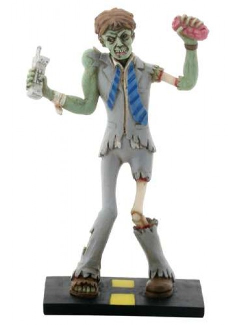 Zombie Business Man Statue at Gothic Plus, Gothic Clothing, Jewelry, Goth Shoes & Boots & Home Decor