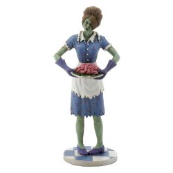 Zombie Housewife Statue Gothic Plus Gothic Clothing, Jewelry, Goth Shoes & Boots & Home Decor