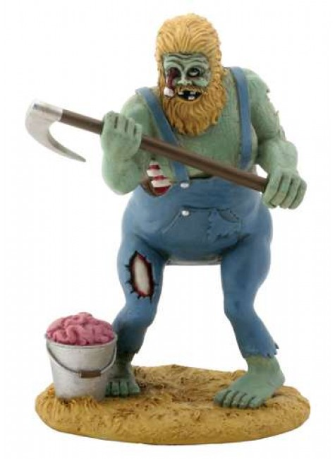Redneck Zombie Hillbilly Statue at Gothic Plus, Gothic Clothing, Jewelry, Goth Shoes & Boots & Home Decor