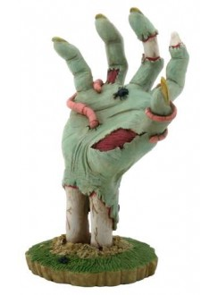 Zombie Hand Rising from the Grave Statue Gothic Plus Gothic Clothing, Jewelry, Goth Shoes & Boots & Home Decor