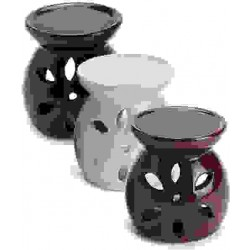 Glazed Ceramic Oil Burner Gothic Plus Gothic Clothing, Jewelry, Goth Shoes & Boots & Home Decor