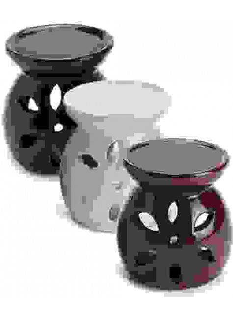 Glazed Ceramic Oil Burner at Gothic Plus, Gothic Clothing, Jewelry, Goth Shoes & Boots & Home Decor