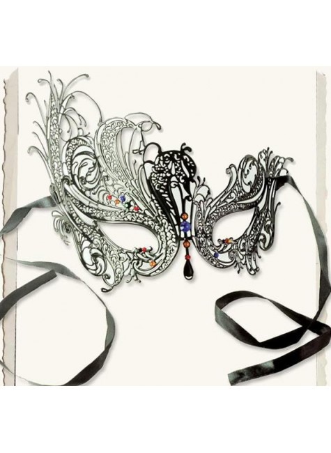 Gothic Intrigue Whimsy Mask at Gothic Plus, Gothic Clothing, Jewelry, Goth Shoes & Boots & Home Decor
