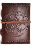 Pentagram Leather Pocket Size Journal
