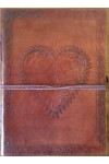Heart Leather Journal
