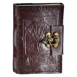 Tree of Life Pocket Journal with Latch Gothic Plus Gothic Clothing, Jewelry, Goth Shoes & Boots & Home Decor