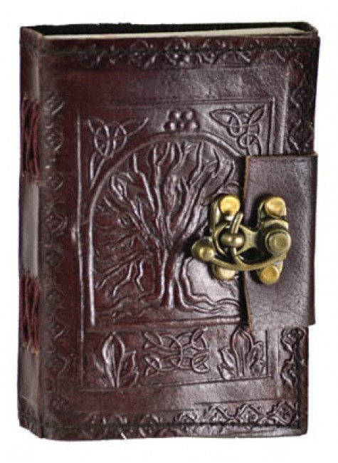 Tree of Life Pocket Journal with Latch at Gothic Plus, Gothic Clothing, Jewelry, Goth Shoes & Boots & Home Decor
