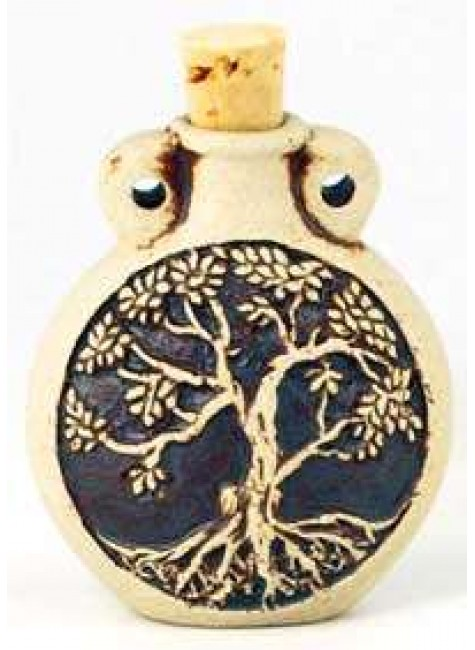 Tree of Life Oil Bottle Necklace at Gothic Plus, Gothic Clothing, Jewelry, Goth Shoes & Boots & Home Decor