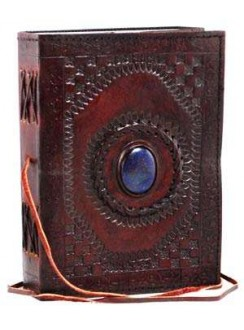 Gods Eye 7 Inch Leather Journal Gothic Plus Gothic Clothing, Jewelry, Goth Shoes & Boots & Home Decor